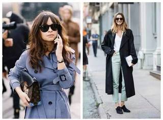 秋冬街拍曝光率最高的5款外套,你还缺哪一款?