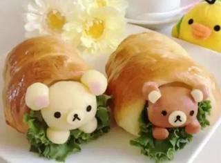 """日本网友分享的""""轻松熊料理"""" 大家感受一下..."""