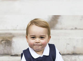 乔治小王子圣诞照 这个世界等我去萌翻