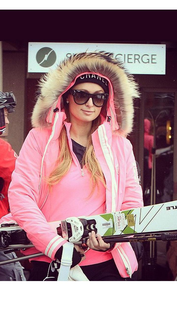 壕儿姐的滑雪服快集齐7色,可以召唤神龙了