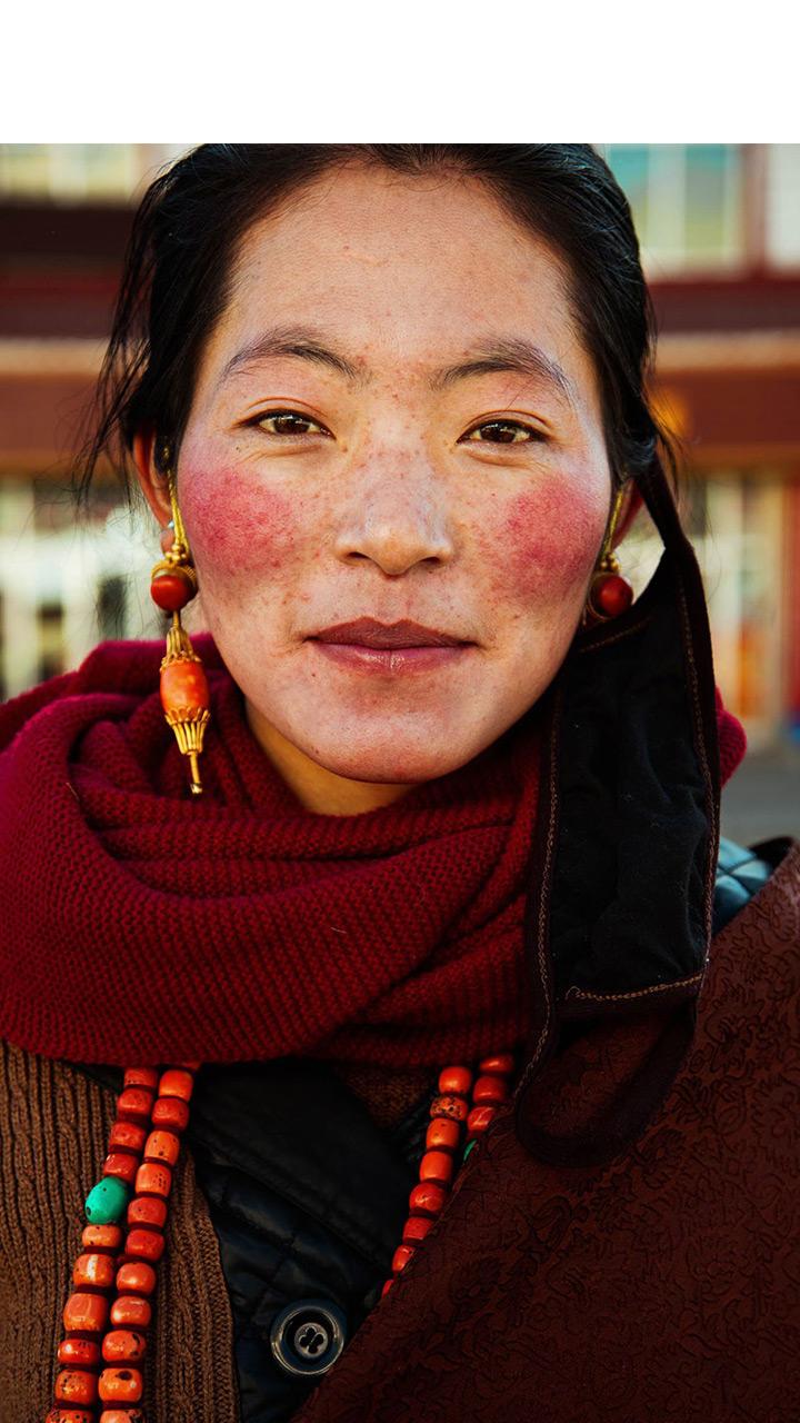 她走遍37个国家拍下无数女孩 只想告诉我们美无所不在