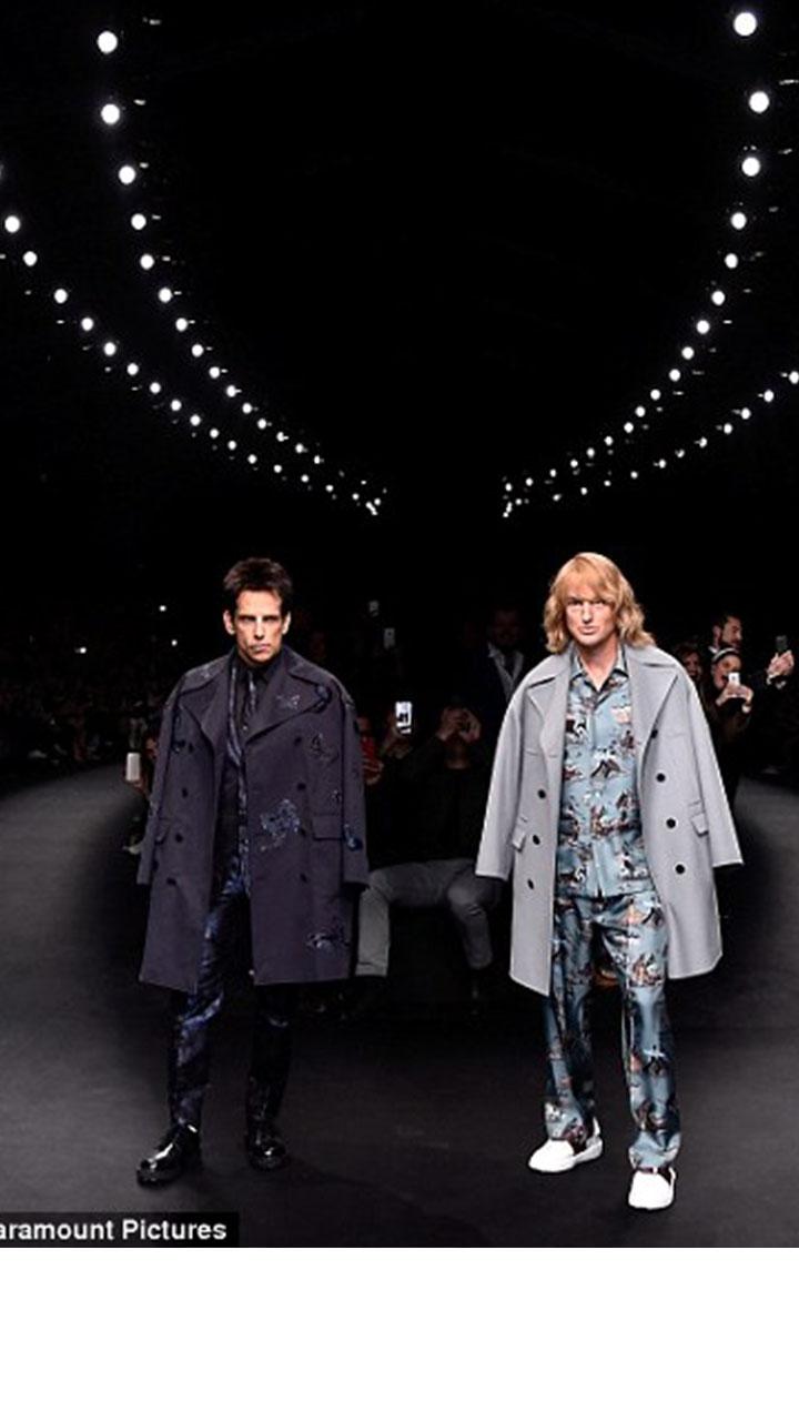 《博物馆奇幻夜》两个活宝 变身时尚咖乱入时装周