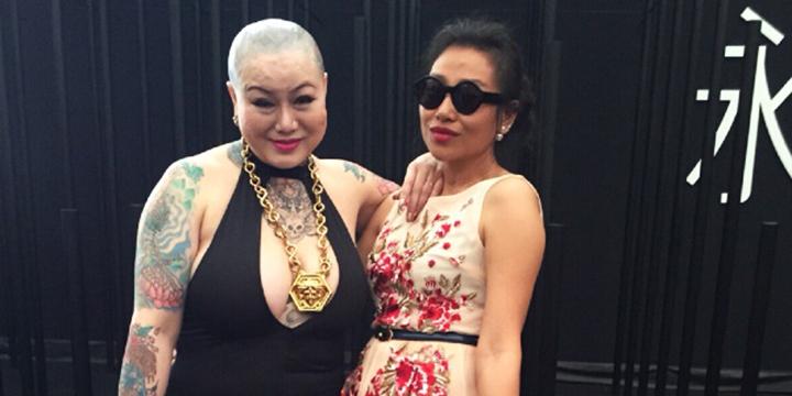 深圳时装周的光头大姐 她到底是谁?