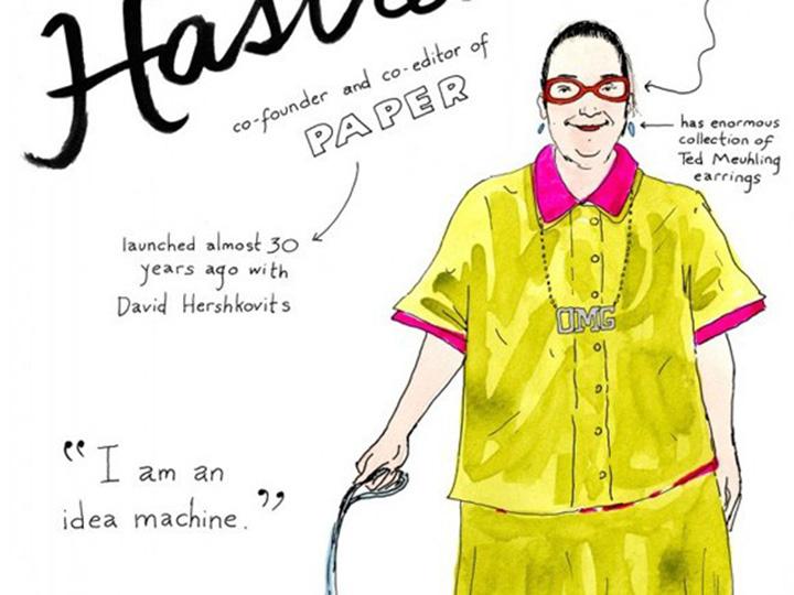 看了这10张漫画 就能轻松认识时尚圈大佬