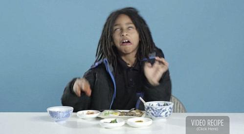 当美国小孩吃其他国家的早餐时…那表情