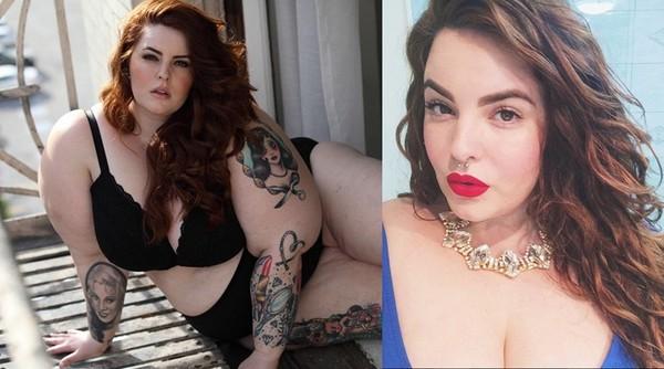 她体重236斤 却依然是世界上最美的超模…
