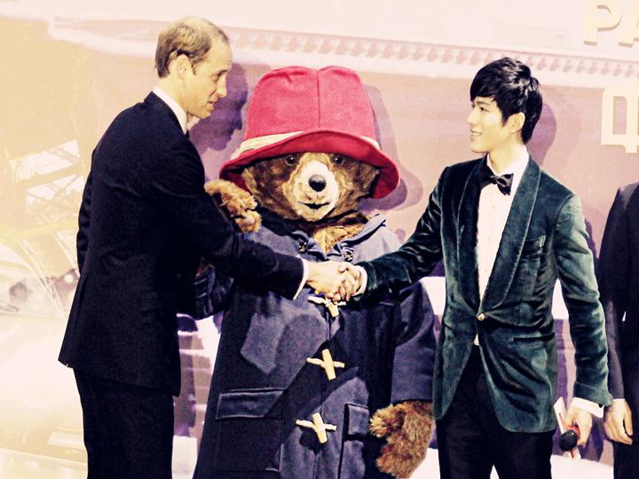 郭敬明好强啊,威廉王子来中国还特意见了陈学冬...