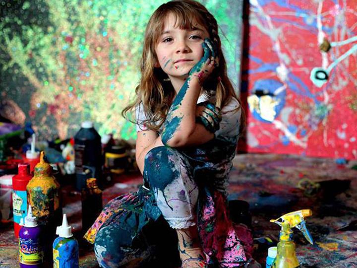 她7岁就成大富翁 还可能成为毕加索
