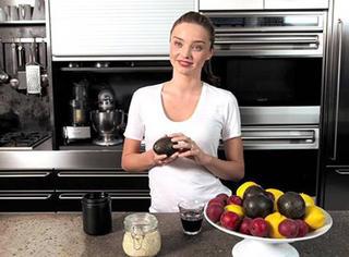 米兰达·可儿原来会做这些 美味又健康(附菜谱)