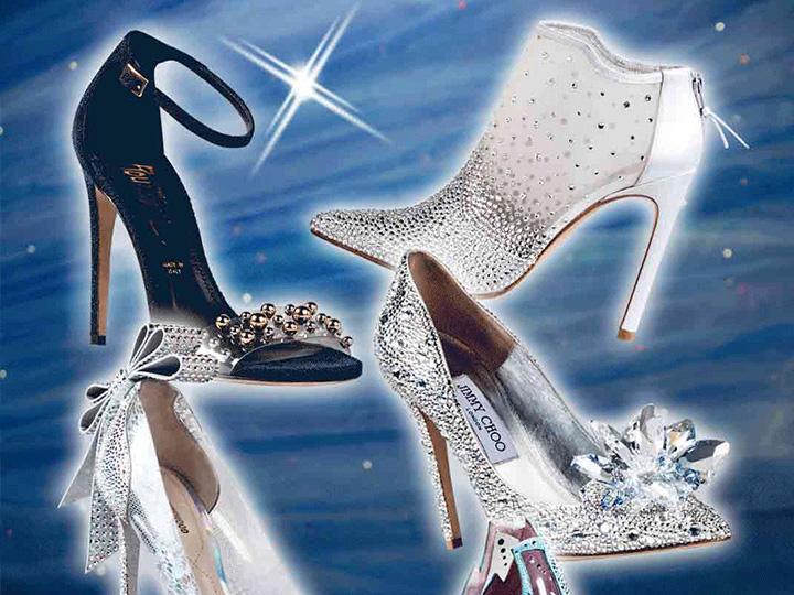灰姑娘是骗人的 但水晶鞋不是 因为你也值得拥有