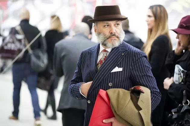世界上最会穿的大胡子都跑去风骚周了