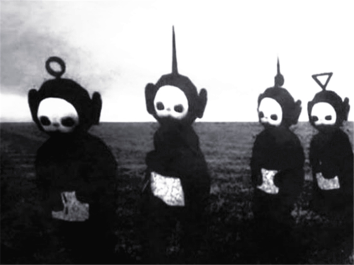 《天線寶寶》變成黑白之后,根本就是會嚇哭小孩的鬼片啊