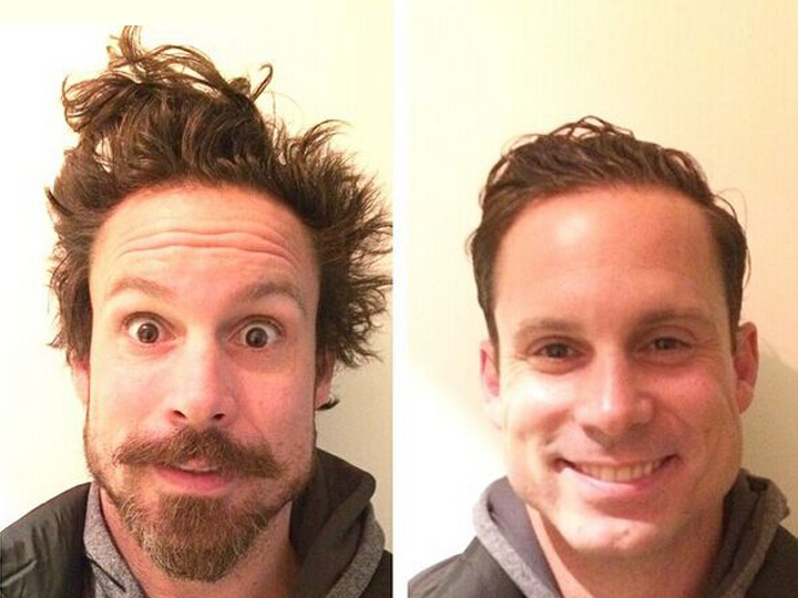 这21个男子只是剪了头发修了胡子 效果竟然比换脸还神奇