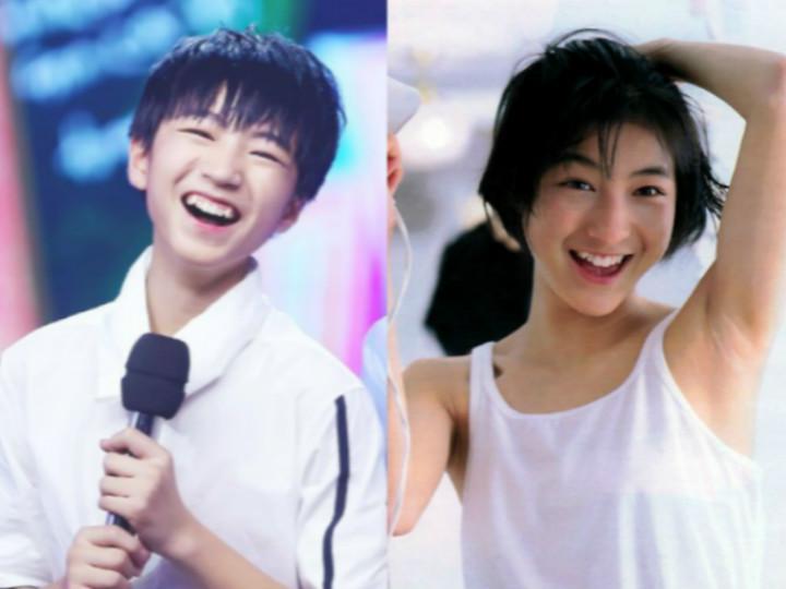 TFBOYS王俊凯的姐姐是日本女星广末凉子?