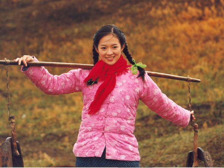 女明星村姑style,谁是中国最美的村姑?