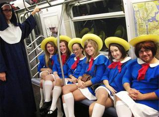 看完这15张图,你就知道地铁是多么奇葩的地方了...