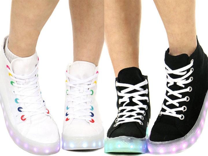 摩擦摩擦 地灯鞋回潮 现在把它穿出来你就赢了!