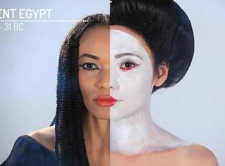 5000年来中国美女与世界美女的比较 冰冰Baby比下去