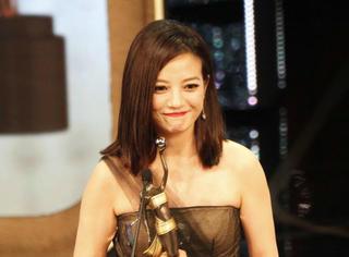赵薇首获金像奖影后!7组数据证明她就是人生赢家