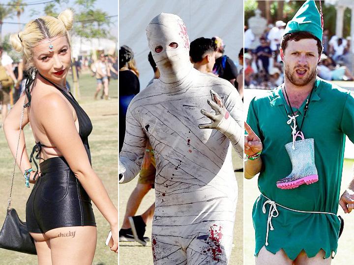 去音乐节 如果你不能穿得很美 至少也要穿得很惊人
