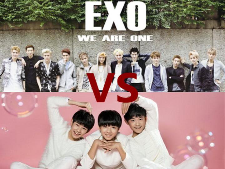 TFboys和EXO两家粉丝又开打?你们都撕错人了!