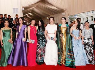 2015Met Ball 最会穿的一线华人女星都聚齐了