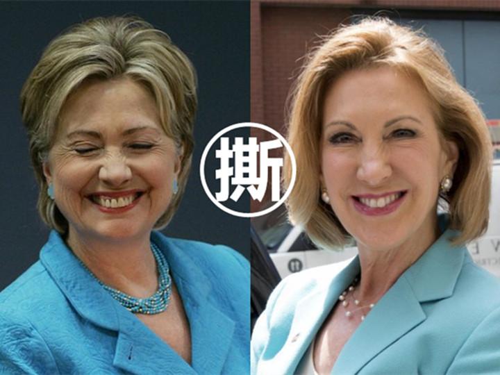 女强人互撕争选美国总统,女人何苦为难女人!