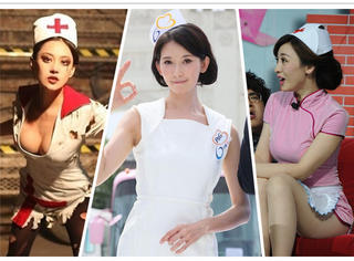 最美护士装女星,范冰冰、高圆圆、林志玲全都输给了她!