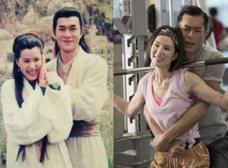 古天乐李若彤20年后重逢,变的不是画风而是脸...
