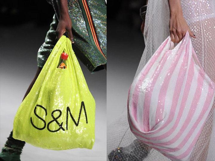 """没在开玩笑 T台上的这个""""塑料袋""""价值600美金"""