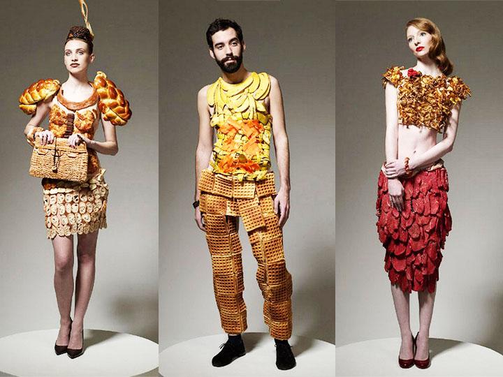 总算知道了 | 奇葩服装设计师的灵感来自于——逛超市!