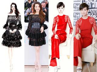 戛纳上的中国美人 这个90后画得比红毯美