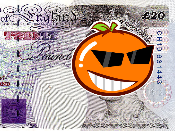 惊 | 取代英女王印在20英镑纸币上的竟然是他?