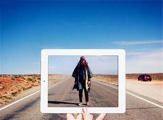 摄影师把iPad带到电影拍摄地,一按快门就还原了电影大片